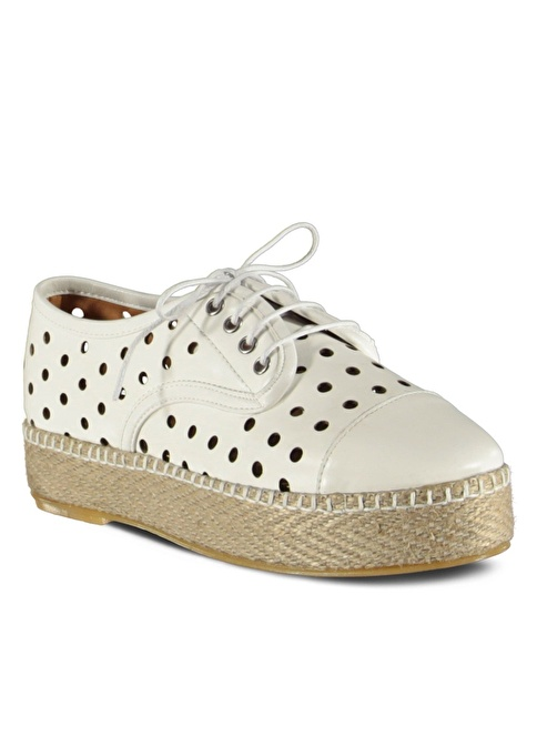 Marjin Ayakkabı Beyaz